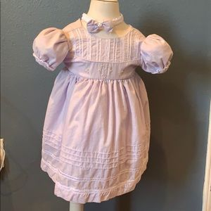 Other - 100% Cotton Lilac/Pink dress for infant 6mths